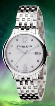 ETERNAL brand Premium Quality Argentium 960 Silver Gents Wrist Watch