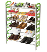 Kawachi Folding Portable 6 layers Shoes Rack Shelf New Style Shoes Stands Holders