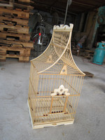 Home Decoration Hanging BAMBOO BIRD CAGES