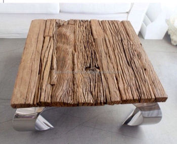 indian railway sleeper wood coffee table end table curved leg coffee table buy reproduction. Black Bedroom Furniture Sets. Home Design Ideas
