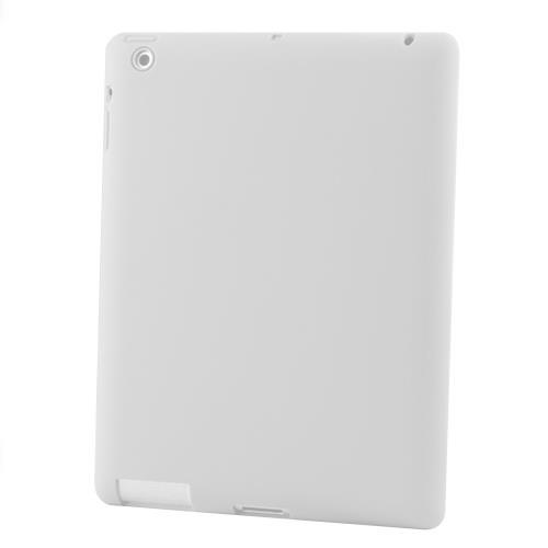 Silicon Case for New iPad 3-Transparent