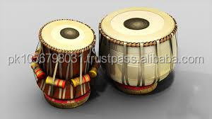 TABLA DRUMS SET PROFESSIONAL 2.5 KG IRON BAYAN SHESHAM WOOD DAYAN Musical Instrument India In