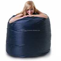 New wholesale fashion blue donut beanbag