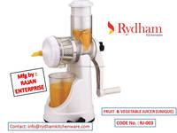 Popular home use handy vegetable and fruit juicer