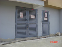 Full Louvers FRP TNB Door, Fiberglass TNB Door, Composite TNB Door