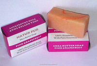 SHEA BUTTER GRAPEFRUIT SOAP- 100% NATURAL AND HANDMADE