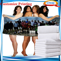 personalize full size printing beach bath towel micro fiber ,easy dry golf towel ,bamboo towel