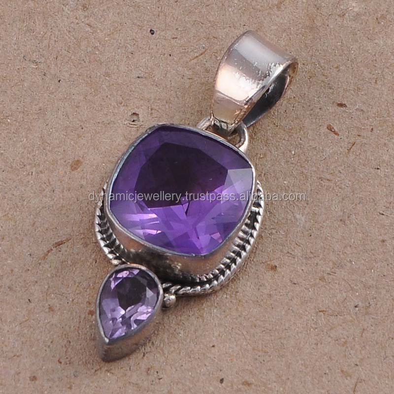 Handmade 925 Sterling silver Alexandrite Wholesale jewelry fashion jewelry