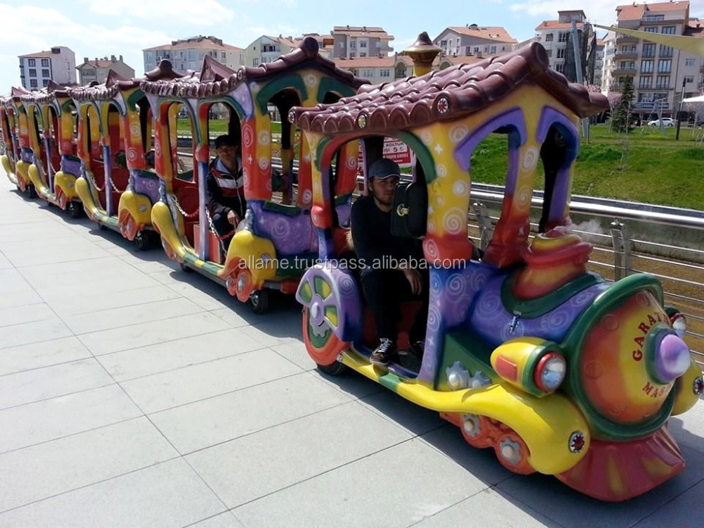 Mall Shopping Cartoon Trackless Train