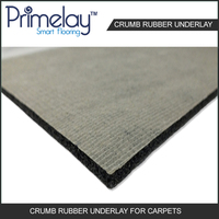rubber underlayment for carpet