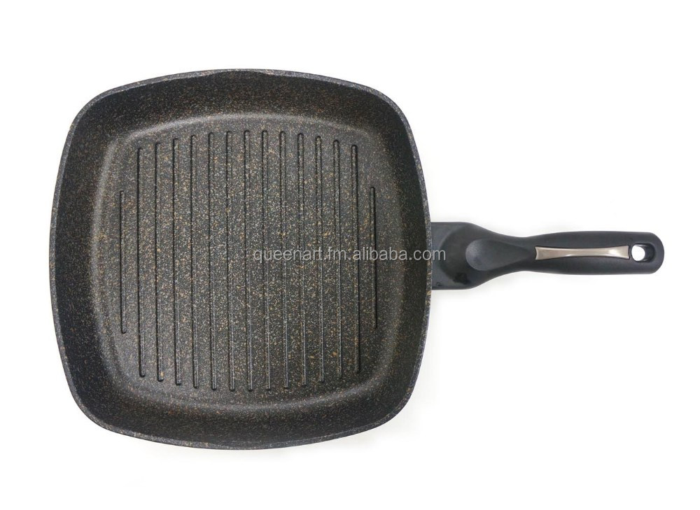 Korean BBQ Grill Plate Square Grill Pan, Frying pan