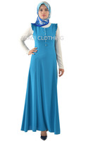 2015 new fashion maxi long muslim dress sleeveless made in turkey istanbul