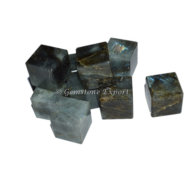 Labrodrite Cubes : Buy Gemstone Cubes Wholesale From Gemstone Export