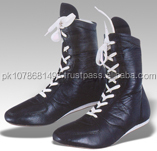 High Quality Fashion Custom Men Leather Boxing Shoes