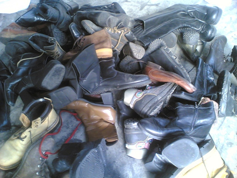 Second hand winter shoes best quality