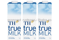 TH True Milk Sterilizied Milk 1L - Sugar / Wholesale UHT Milk / Long Life Milk