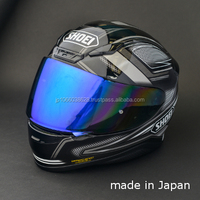 High quality mirror coating for SHOEI helmets shield made in JAPAN