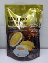 Thailand Instant Coffee 4in1 with Durian ,dutian coffee