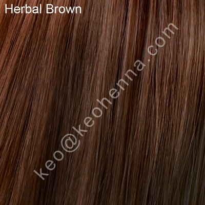 Herbal Brown Chemical Free Hair Color