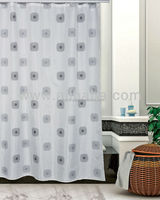 %100 POLYESTER SHOWER CURTAIN / HOTEL SHOWER CURTAIN / WASHABLE SHOWERCURTAIN / EXTRA LONG SHOWER CURTAIN