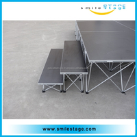 Factory Price Lighting Folding Stage