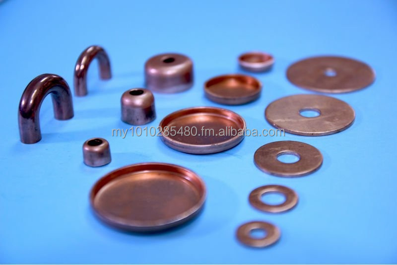 Copper Endcap & Copper End plade