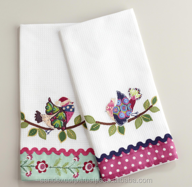seasonal dish towels