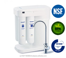 Aquaphor DWM-101 Compact RO Reverse Osmosis Water Filter System with Built In Airless Storage Tank and Re Mineralization