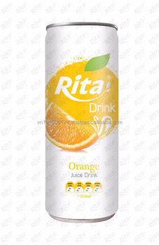 NFC manufacturer beverage Orange fruit soft drink 250ml