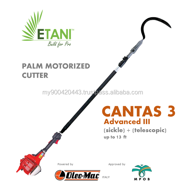 PALM MOTORIZED CUTTER - CANTAS 3 ADVANCED III (SICKLE)