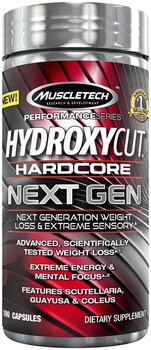 Hydroxycut Hard-core Next Gen - 100 Capsules