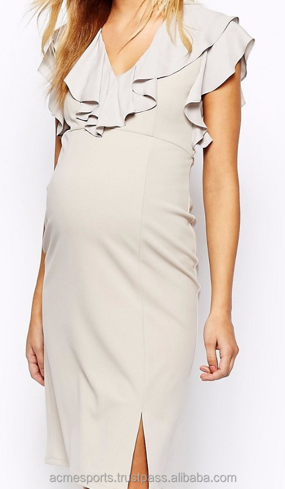 maternal dress - Sleeveless Fashion Maternity Dresses-Comfortable cotton dress for pregnant women