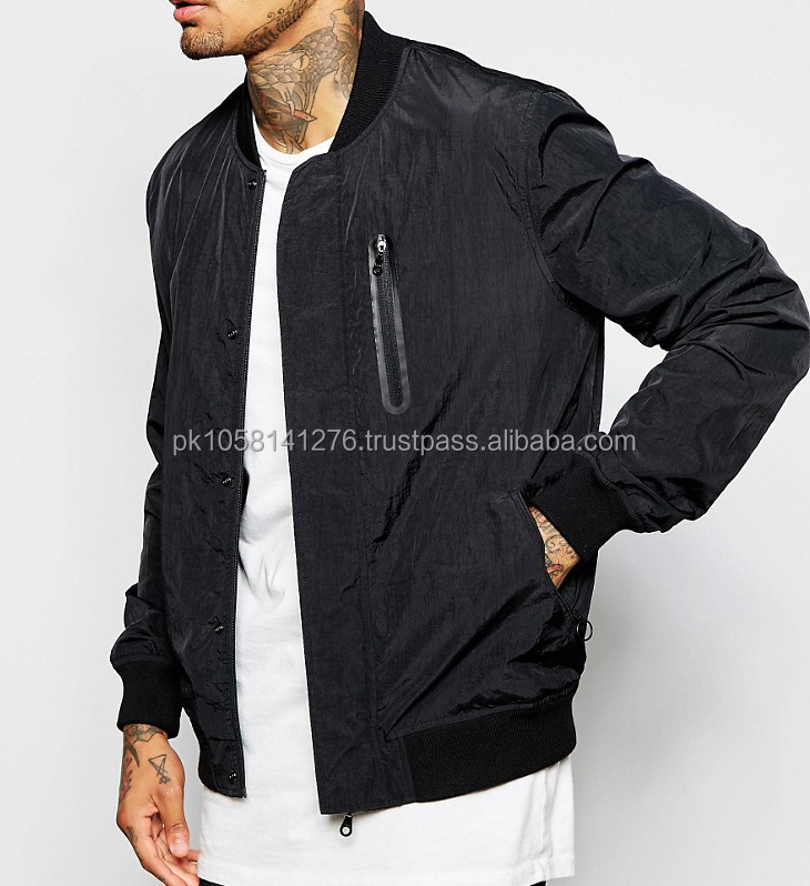 embroidered reversible satin bombber jacket