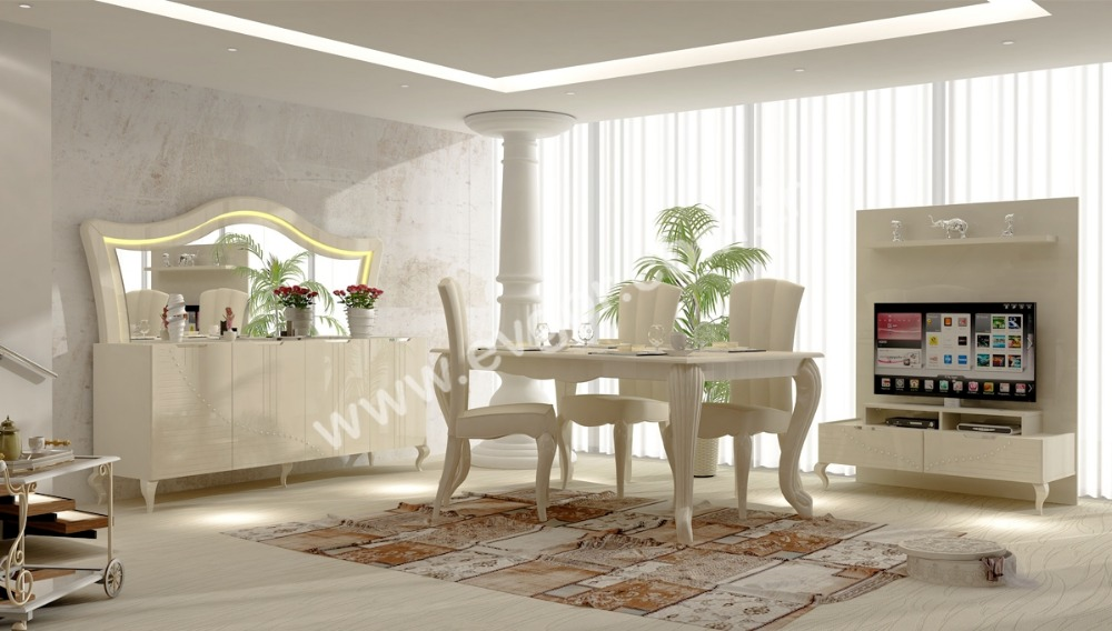 Yildiz Avangarde Dining Room Set