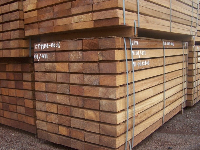Sawn Iroko available for immediate shipment