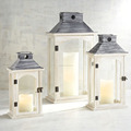 Wooden lantern,Candle Lantern,Mini Lantern For Garden | Set Of 3 Wood Lantern