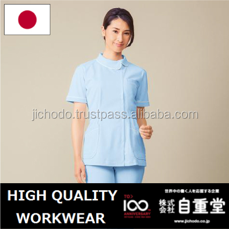 polyester cotton tricot knit / tunics for women . Made by Japan