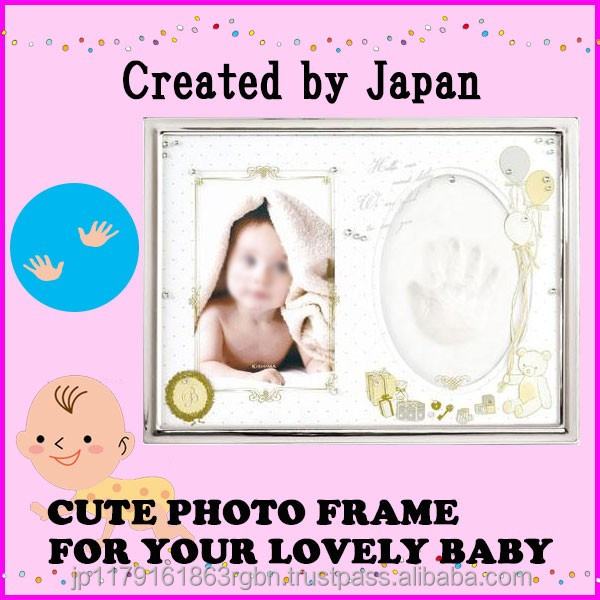 Functional and Fashionable photo picture frame for baby registry , baby gifts created by Japan