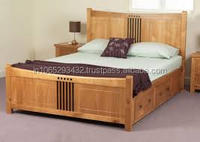 LOWEST PRICE TEAK WOODEN BED