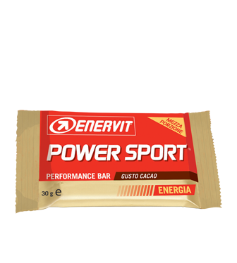 Enervit Power Sport 60g Box with 28 snacks Different Flavors - Lemon Cacao Apple Cookie Cream