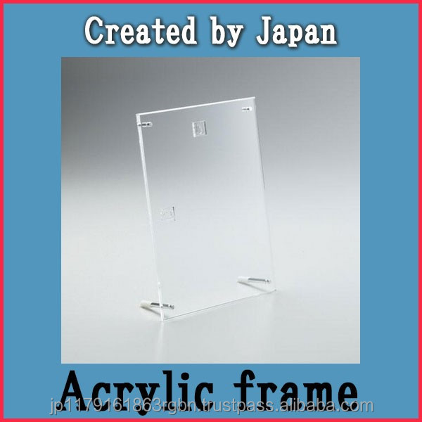 Lightweight and Stylish non frame stand for displaying your favorite pictures created by Japan