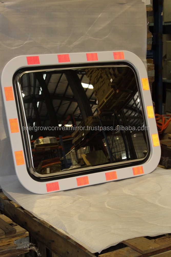 ABS Stainless Steel Convex Mirror 450X600mm