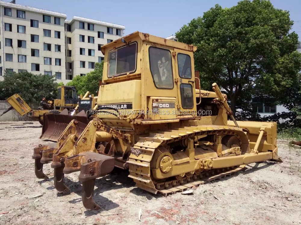 CAT D6D Bulldozer with Ripper,Used CAT D6D DOZER