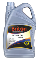 Briton, Motor Oil, Engine Oil, Petrol Engine Oil, Semi Synthetic Oil, Lube, Lubricants, SAE 10W40