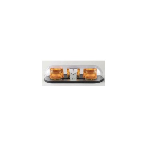 North American Signal Company MBLED625-C/A, 12/24V Clear Dome Two LED Mini-Bar
