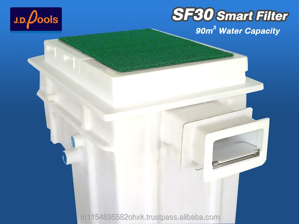 J.D.Pools Thailand Fiberglass Made Smart SF30 Portable Pool filter