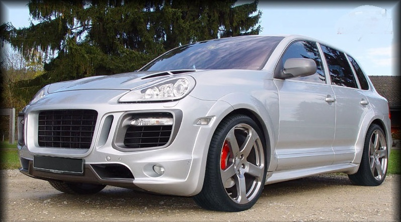 Body kit FOR Porsche Cayenne 957 Mk2 2007-2010