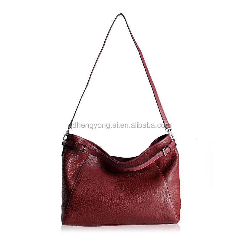 top grain calf leather new stylish brand handbags ladies tote bags in china