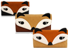 FactorytoShop (UK) Unique 3D Shape FOX 3D PURSES Faux Leather Women Ladies