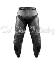 Leather Motorbike Motorcycle Racing Adults Pants